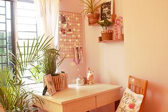 Modern-Boho Study Corner Decor