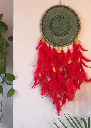 Homelymess Dreamcatcher Crimson Joy