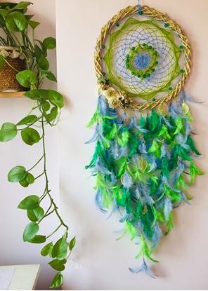Homelymess Dreamcatcher Emerald Beaut