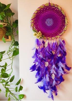 Homelymess Dreamcatcher Violet Hues