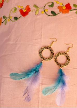 Homelymess Jasmine Aura Dreamcatcher Earrings