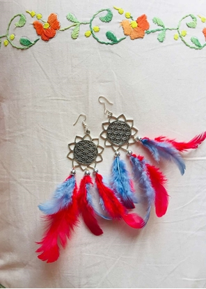 Homelymess The Little Mermaid Dreamcatcher Earrings